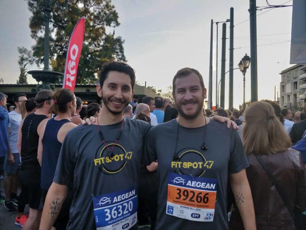 fit spot 47 athens marathon