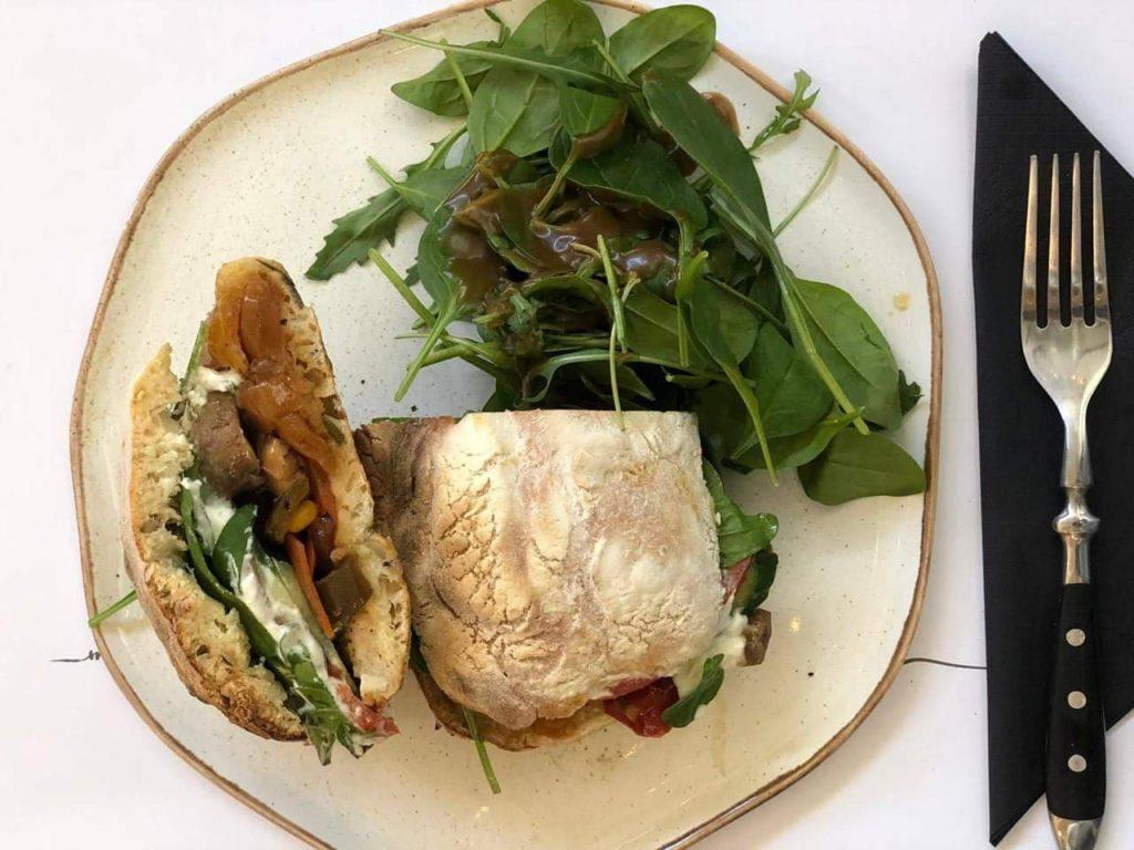 Mind the cup - σάντουιτς με λαχανικά